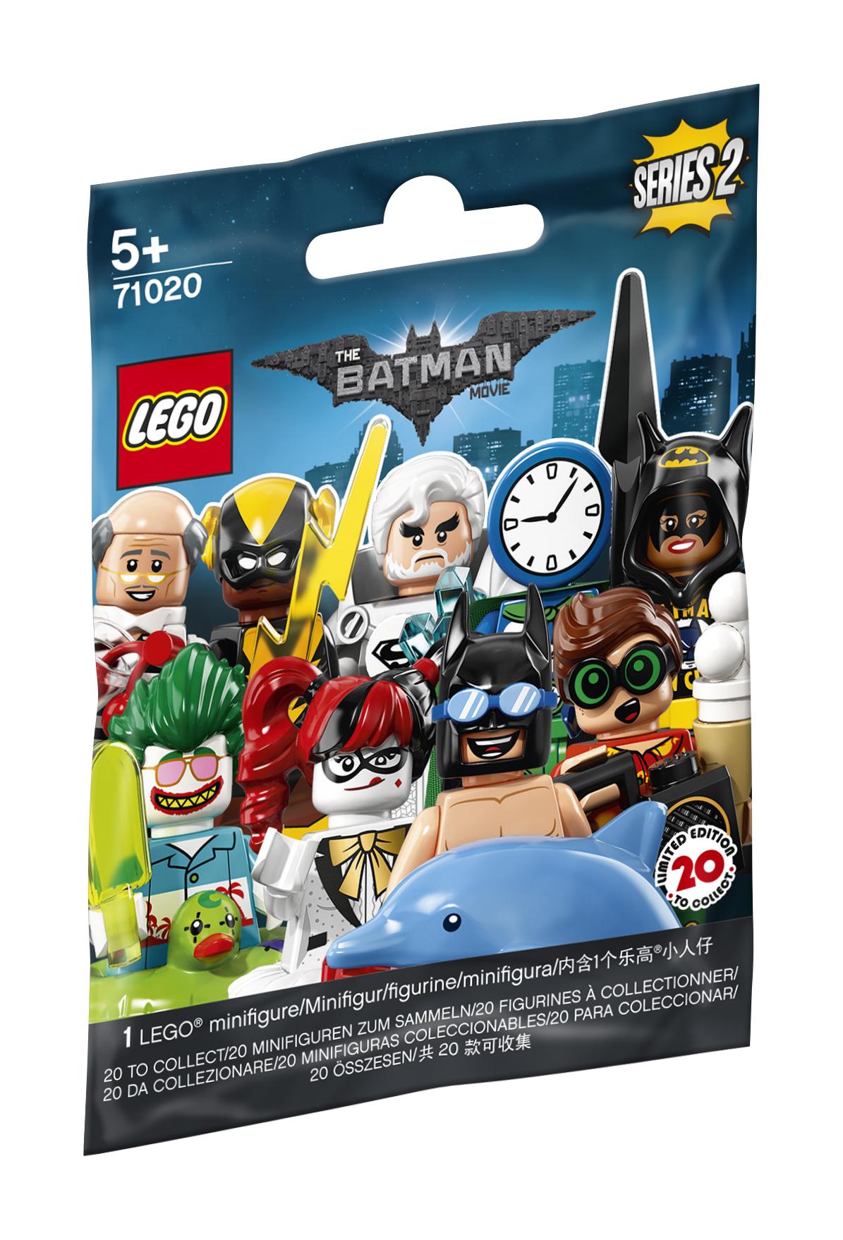 Mini figūrėlės LEGO MINIFIGURES Filmas apie Betmeną 2 serija vaikams nuo 5 metų (71020)