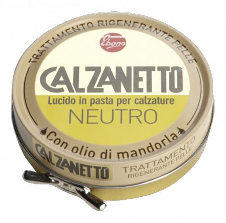 Avalynės tepalas CALZANETTO odos regeneravimui ir poliravimui neutralios spalvos, 50 ml