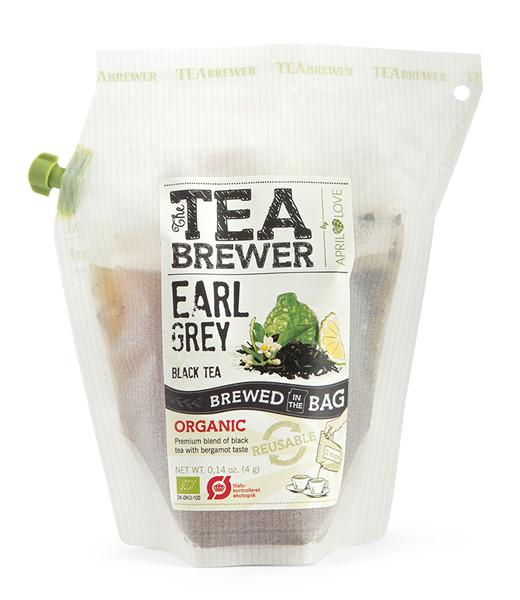 Juodoji arbata Earl Grey TEABREWER, 4g