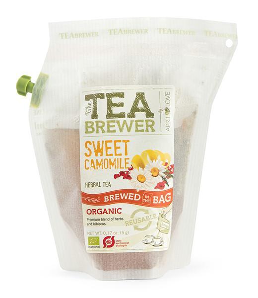Žolelių arbata Sweet Camomile TEABREWER, 5g