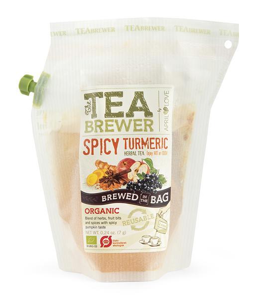Žolelių arbata Spicy Turmeric TEABREWER, 7g
