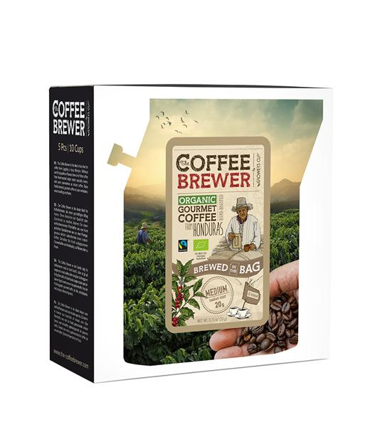 Kavos dovanų rinkinys 5vnt COFFEEBREWER, 103g