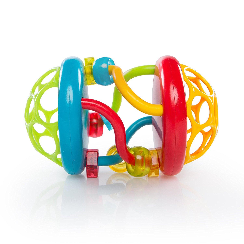 Lavinamasis žaislas OBALL vaikams nuo 3 mėn. (11133)
