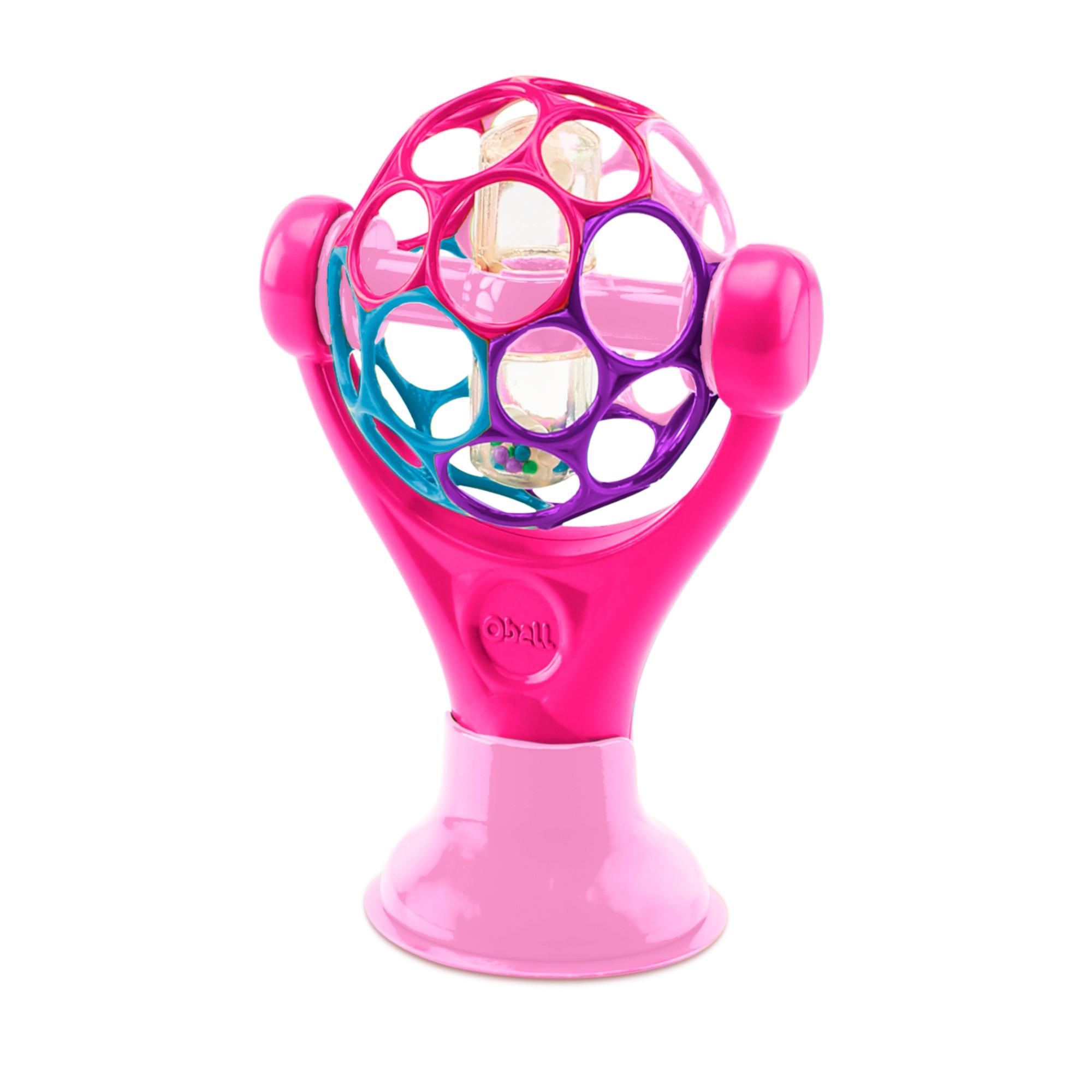 Prilipinamas stalo žaislas OBALL kūdikiams nuo 0+ mėn. (81551)