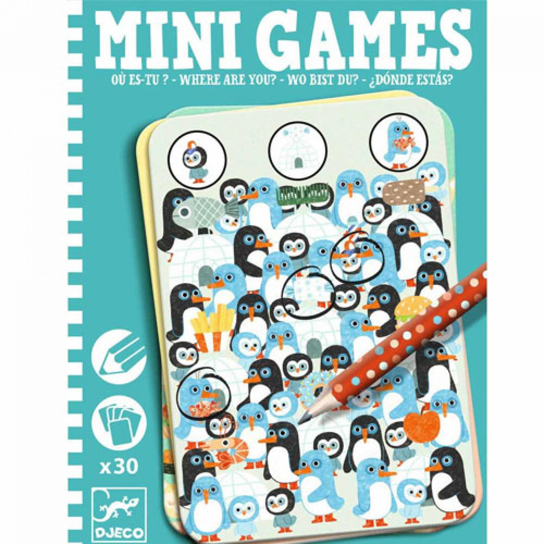 Edukacinis mini žaidimas DJECO Where are You vaikams nuo 6 metų (DJ05332)