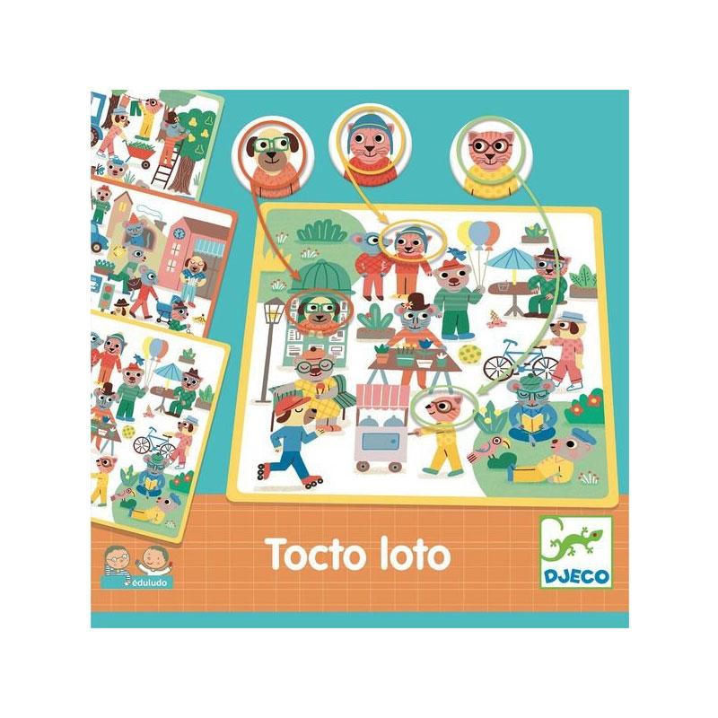 Edukacinis žaidimas DJECO Tocto Loto 3-6 metų vaikams (DJ08311)