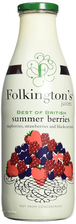 Vasaros uogų gėrimas FOLKINGTON'S, 1L