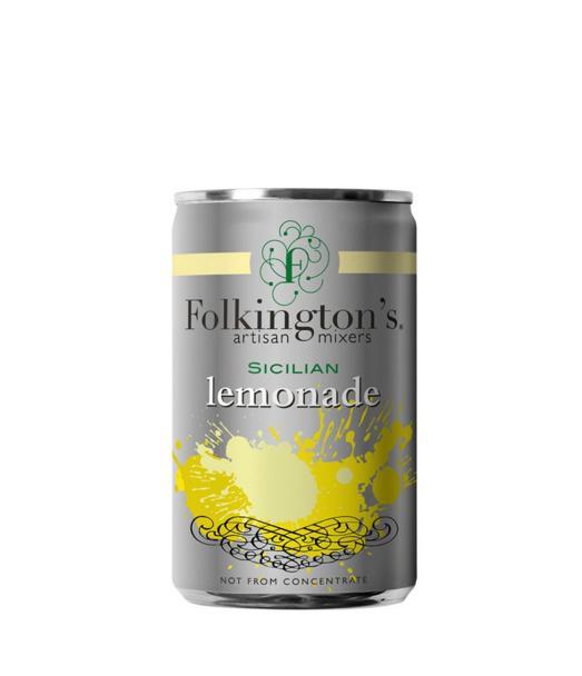 Gazuotas gėrimas FOLKINGTON'S SICILIAN LEMONADE, 150ml