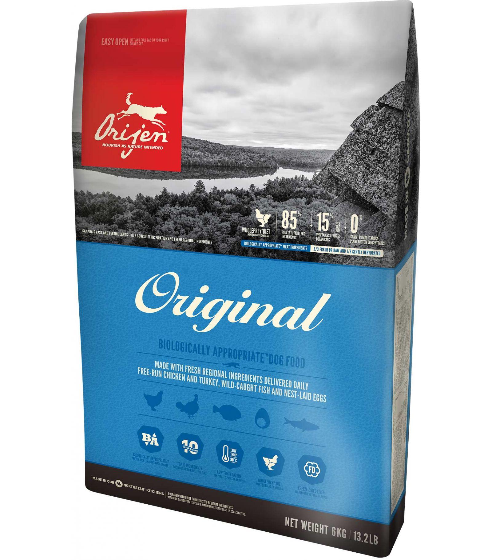 Sausas maistas šunims ORIJEN Original, 2 kg