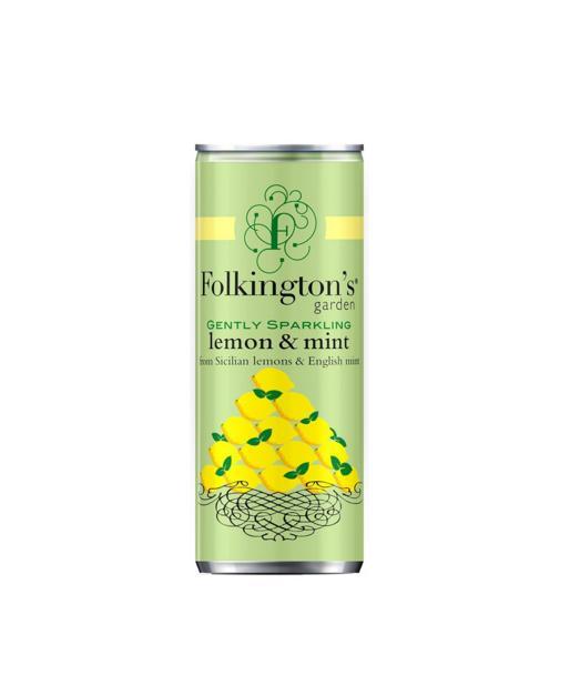 Silpnai gazuotas citrinų ir mėtų gėrimas FOLKINGTON'S,  250ml