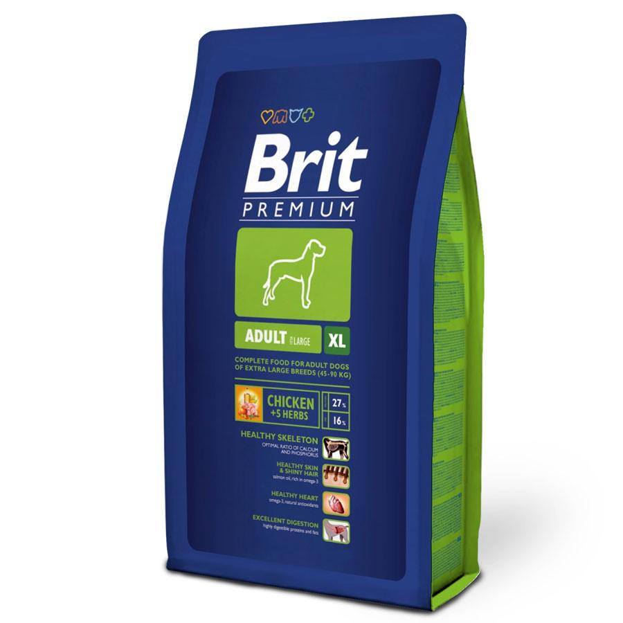 Sausas maistas šunims BRIT PREMIUM Adult XL, 3 kg