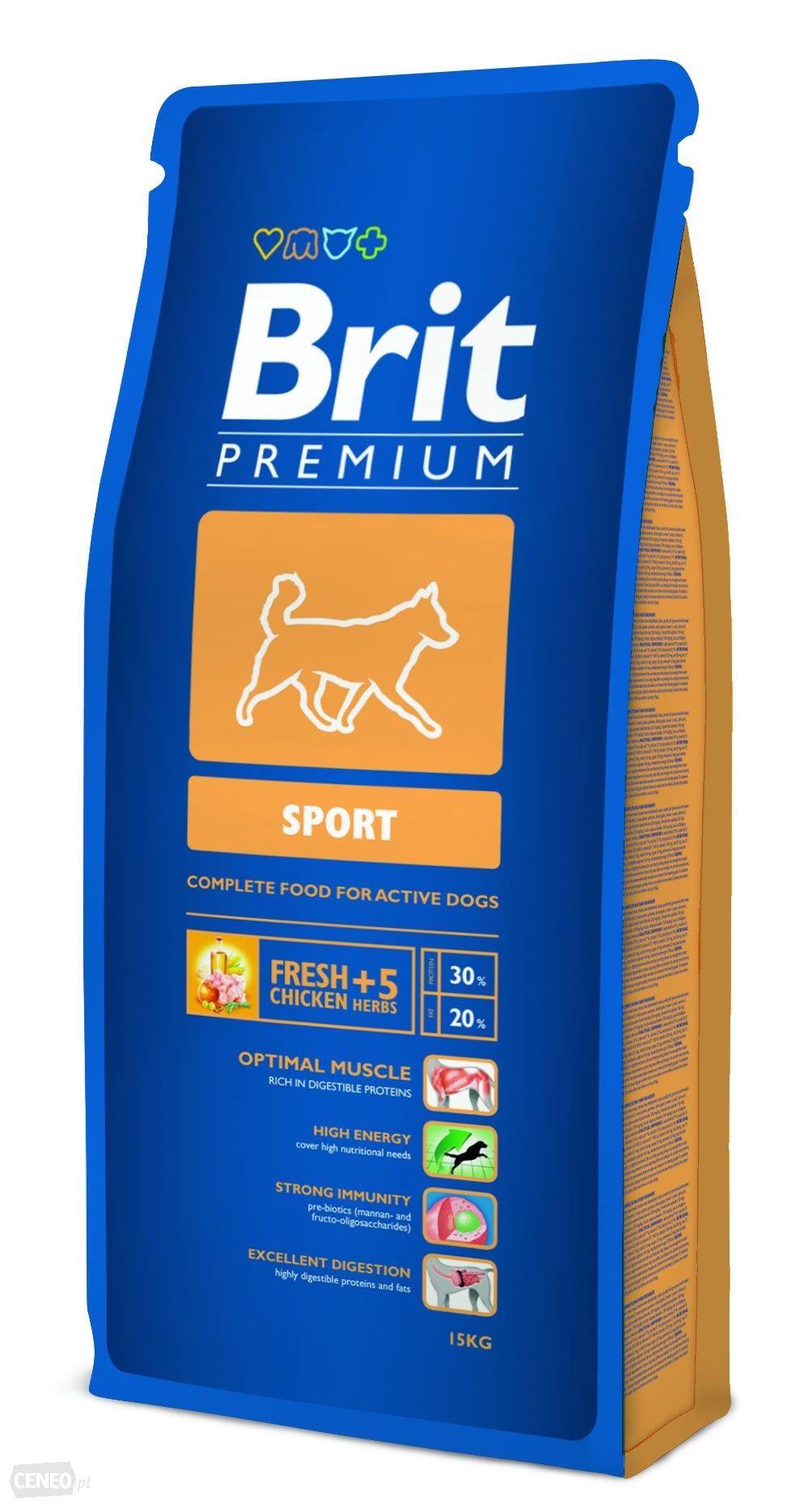 Sausas maistas šunims BRIT PREMIUM Sport, 3 kg