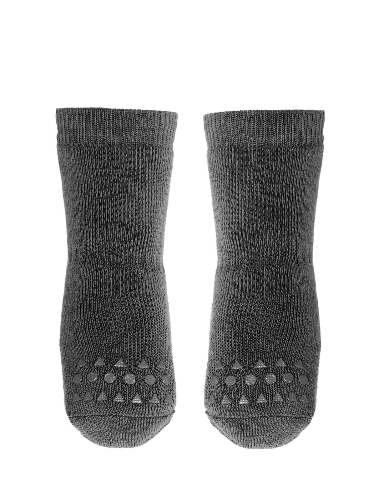 Tamsiai pilkos kojinaitės GOBABYGO 6-12 mėn. vaikams
