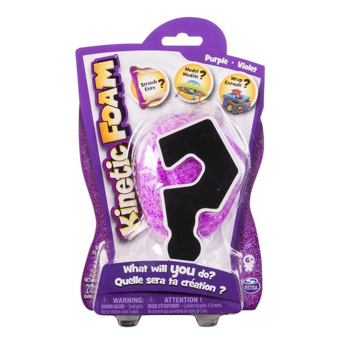 Purpurinės kinetinės putos KINETIC FOAM vaikams nuo 6 metų