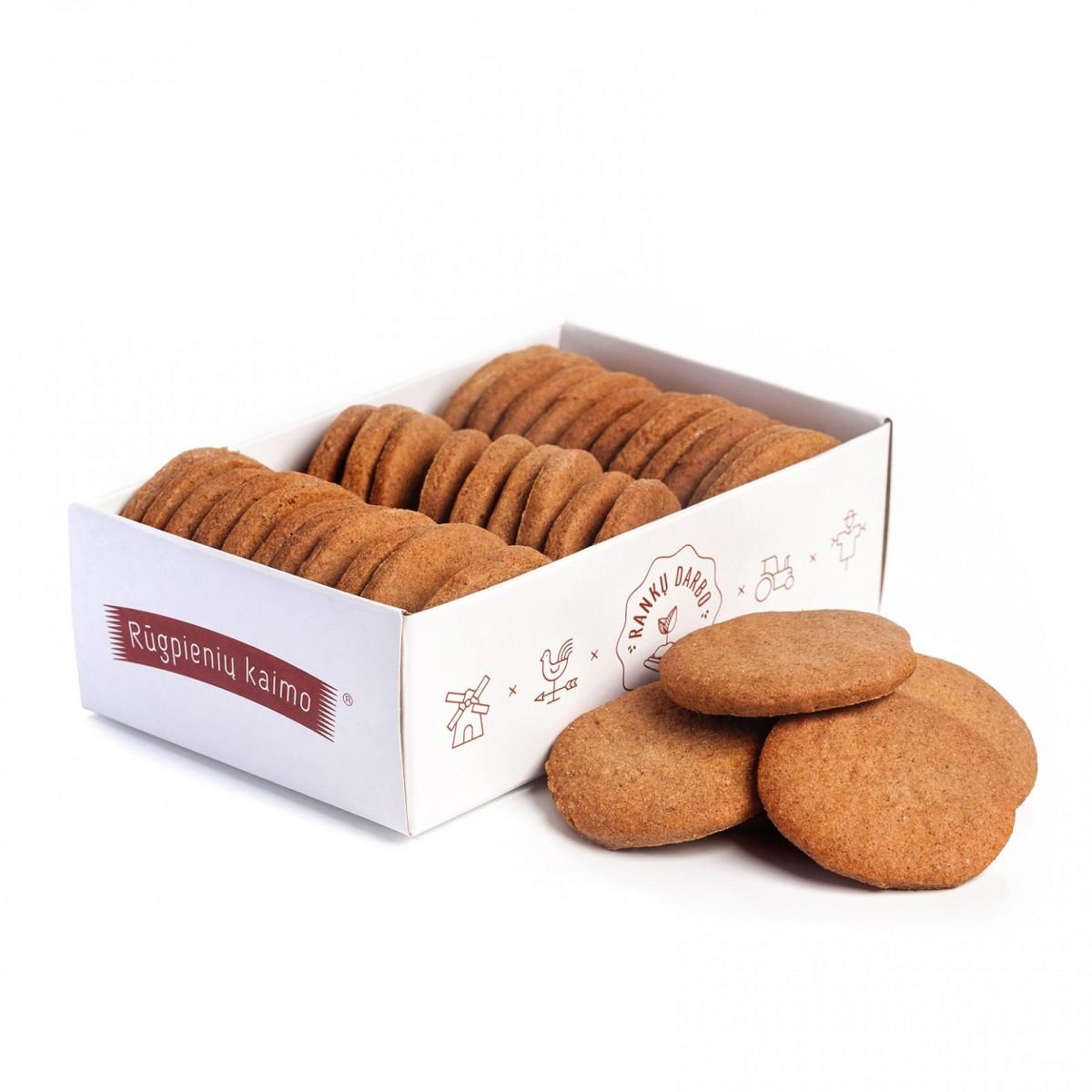 Ruginiai sausainiai, Rūgpienių kaimo, 150g
