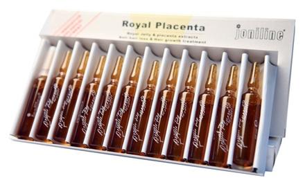 Serumas nuo plaukų slinkimo ROYAL PLACENTA, 12x10ml
