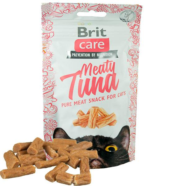 Skanėstai katėms BRIT CARE Meaty Tuna, 50 g