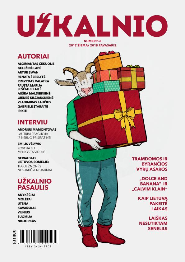 Užkalnio žurnalas, 1vnt.