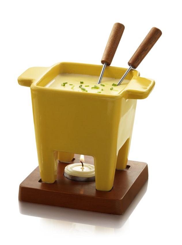 Sūrio fondiu BOSKA, geltonas, 200 g