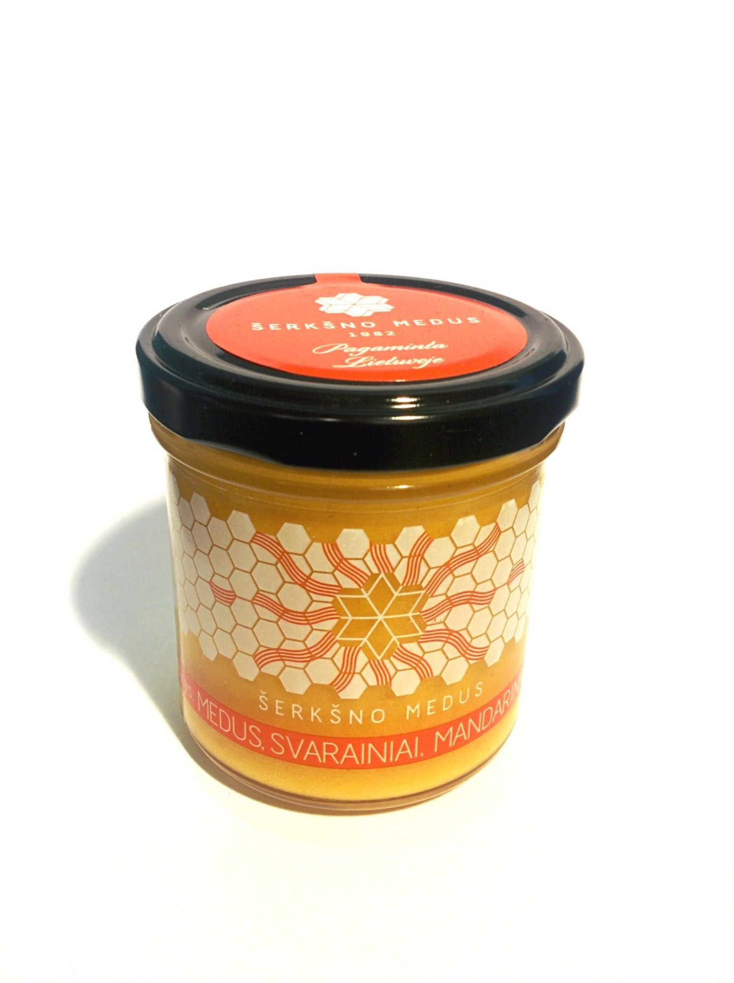 Medus su svarainiais ir mandarinais, 200g