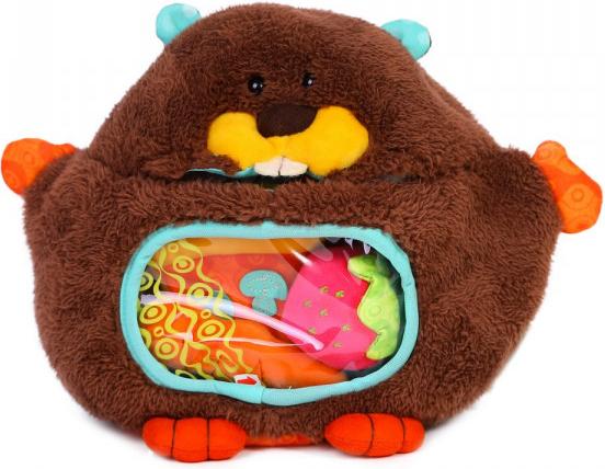 Minkštas žaislas B-TOYS kūdikiams nuo 6+ mėn. (BX1516)