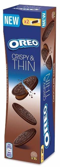 Sausainiai su šokoladinio kremo įdaru Thins OREO, 96g