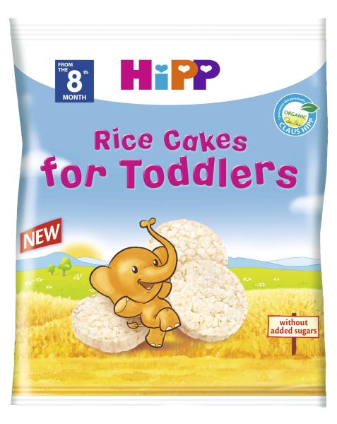 Ekologiški ryžių paplotėliai HIPP vaikams (nuo 8 mėn.), 35 g