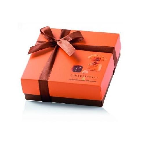 Šokoldainių triufelių dežutė TARTUFI Gianduja Colore, 125 g