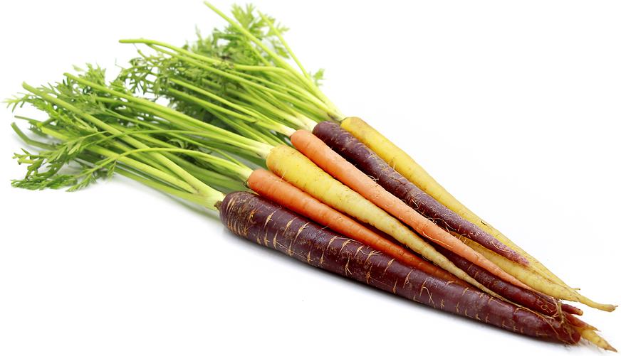 Vaivorykštinės morkos