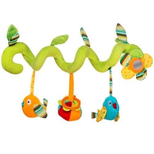 Pakabinamas žaislas-spiralė BABYONO kūdikiams nuo 0 mėn. (1395)