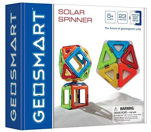 Magnetinis konstruktorius GEOSMART Solar Spinner vaikams nuo 5 metų (GEO 200)