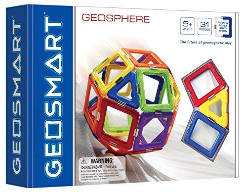 Magnetinis konstruktorius GEOSMART GeoSphere vaikams nuo 5 metų (GEO 210)