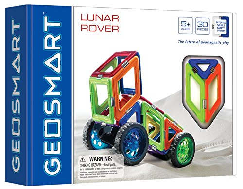 Magnetinis konstruktorius GEOSMART Lunar Rover vaikams nuo 5 metų (GEO 211)