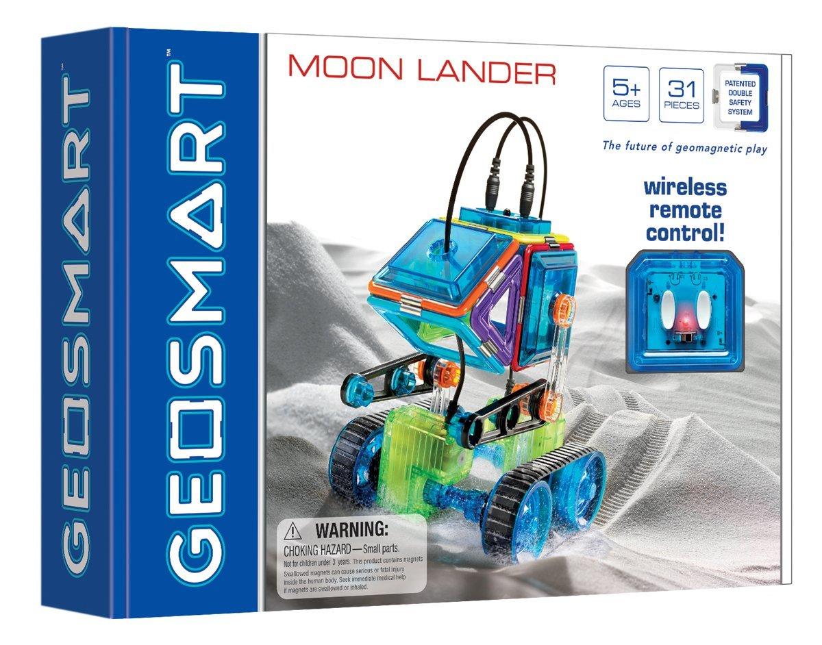 Magnetinis konstruktorius GEOSMART Moon Lander vaikams nuo 5 metų (GEO 212)
