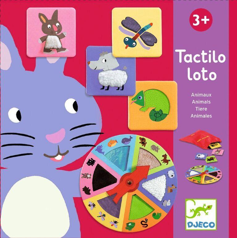 Stalo žaidimas DJECO Lytėjimo loto vaikams nuo 3+ metų (DJ08129)