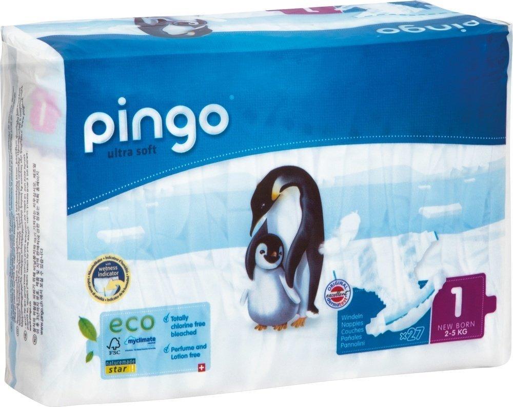 Sauskelnės PINGO 1 (2-5 kg), 27 vnt.