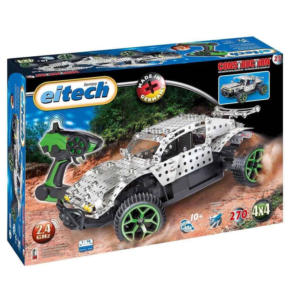 Metalinis konstruktorius EITECH 2.4 GHZ RC Desert Truck vaikams nuo 8 metų (C25)