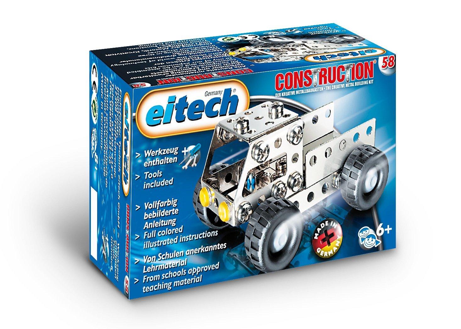 Metalinis konstruktorius EITECH Truck vaikams nuo 6 metų (C58)