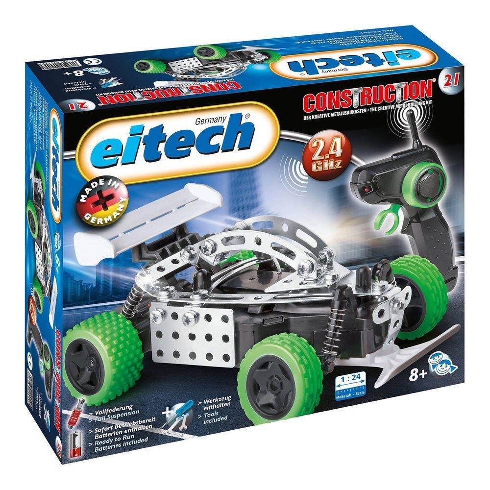 Metalinis konstruktorius EITECH 2.4 GHZ RC Speed Racer vaikams nuo 8 metų (C21)