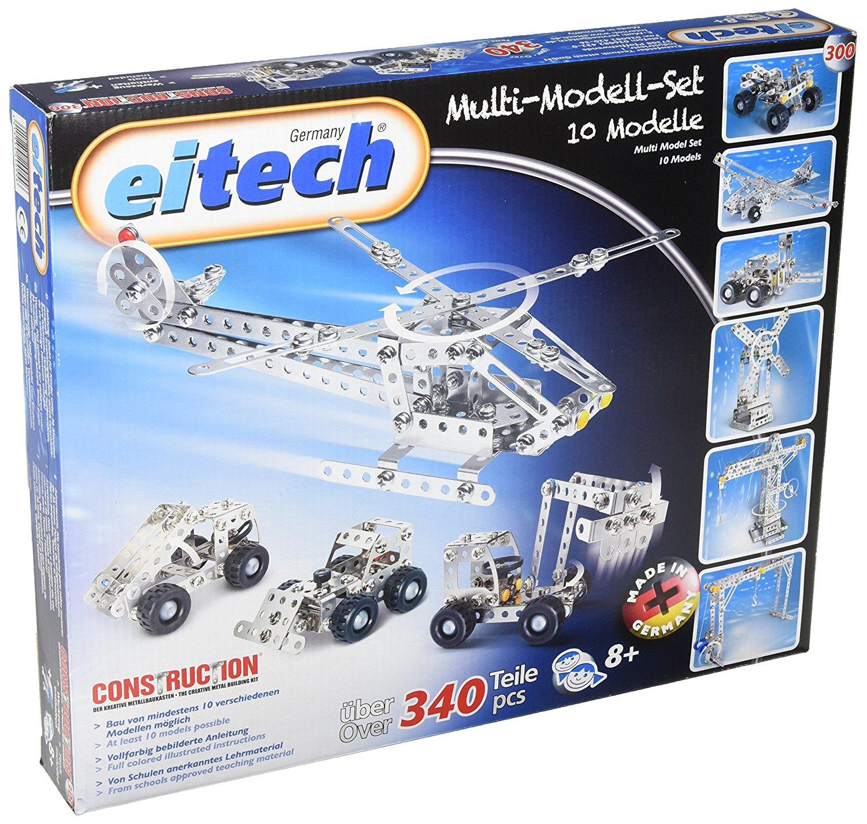 Metalinis konstruktorius EITECH Multi Model Set vaikams nuo 6 metų (C300)