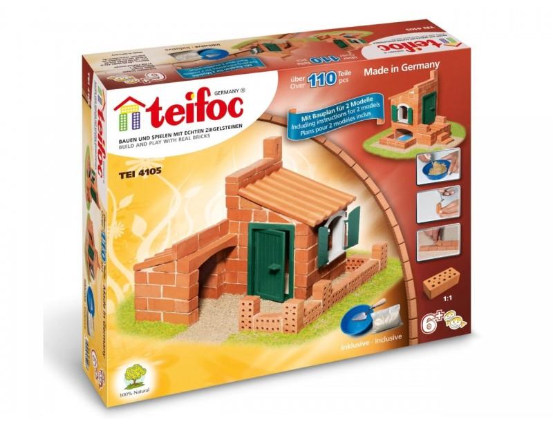 Molinis konstruktorius TEIFOC Houses vaikams nuo 6 metų (TEI4105)