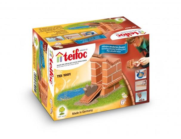 Molinis konstruktorius TEIFOC Duck Stable vaikams nuo 6 metų (TEI1001)