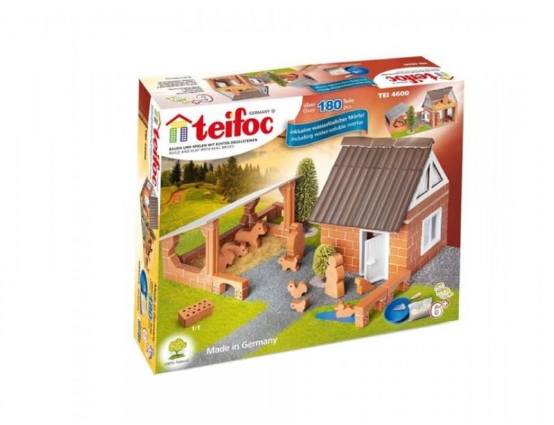 Molinis konstruktorius TEIFOC Farm vaikams nuo 6 metų (TEI4600)