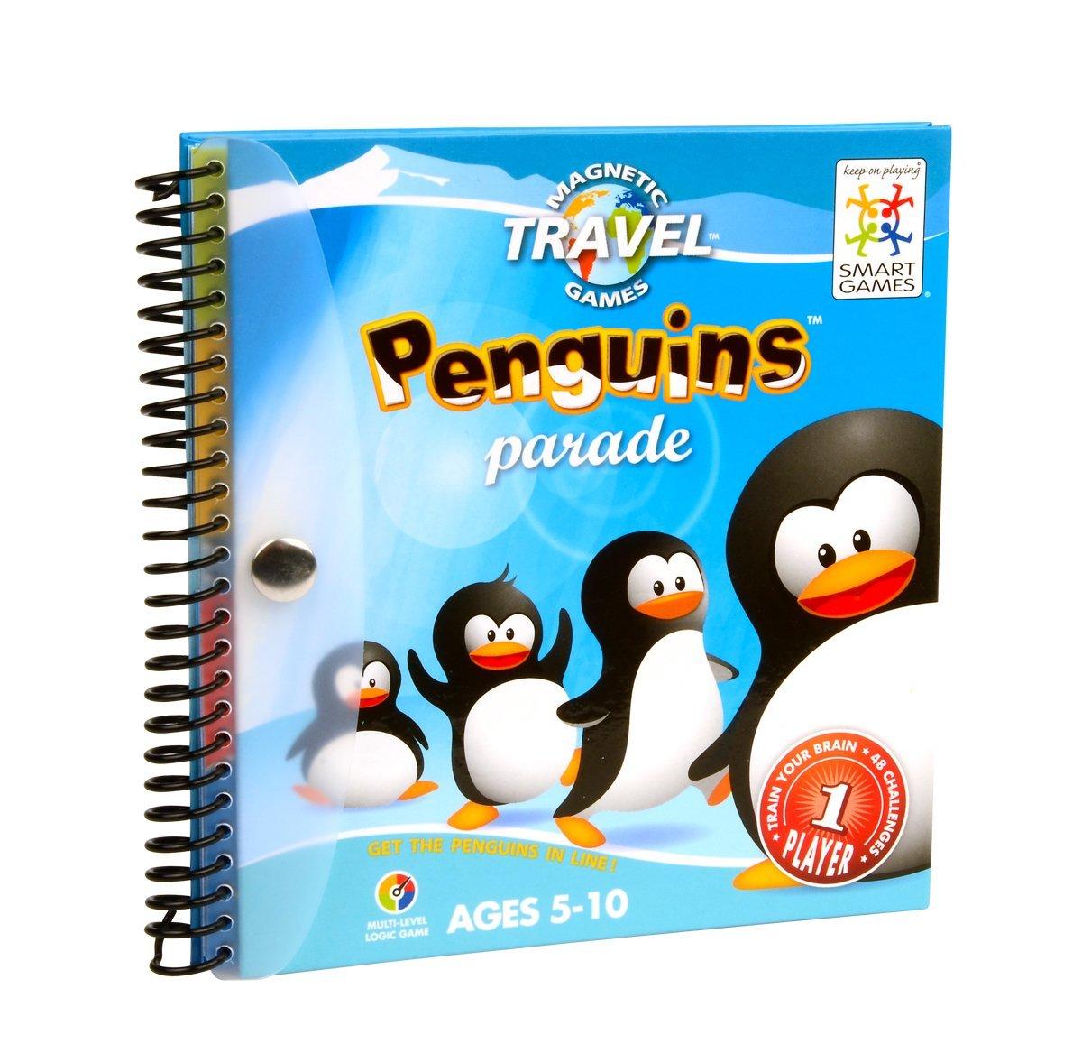 Loginis žaidimas SMART GAMES Penguins Parade vaikams nuo 6 metų (SGT 260)