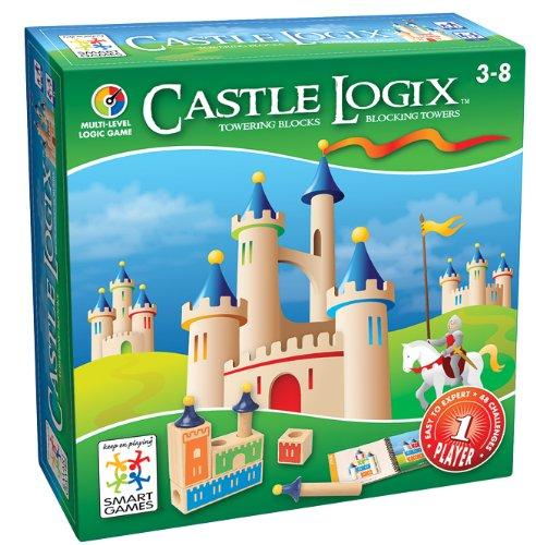 Loginis žaidimas SMART GAMES Castle Logix NEW vaikams nuo 3 metų (SG 030)