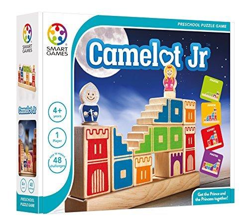 Loginis žaidimas SMART GAMES Camelot Jr NEW vaikams nuo 4 metų (SG 031)