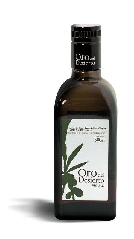 Ekologiškas ypač tyras alyvuogių aliejus PICUAL ORO DEL DESIERTO, 500ml