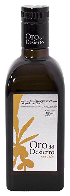 Ekologiškas ypač tyras alyvuogių aliejus LECHIN ORO DEL DESIERTO, 500ml