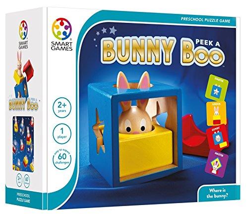 Loginis žaidimas SMART GAMES Bunny Boo NEW vaikams nuo 3 metų (SG 037)