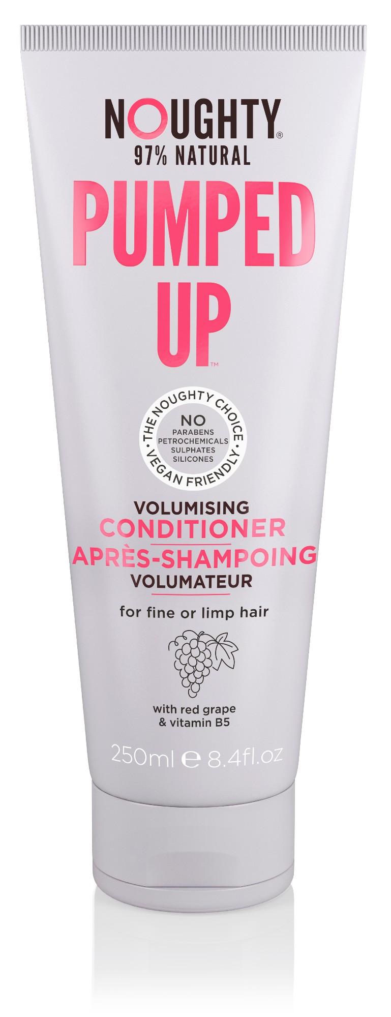 Plaukų apimtį didinantis kondicionierius ploniems suglebusiems plaukams NOUGHTY, 250ml